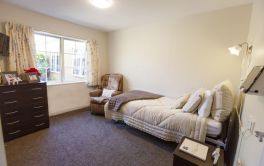 Aged Care Resthome room