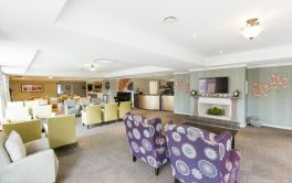 Aged Care resthome lounge