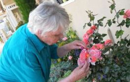 Aged Care Out in the garden...