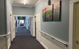 Aged Care Dementia Unit corridor