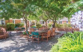 Aged Care Outdoor Area