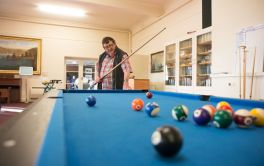 Aged Care Fancy a game of pool?
