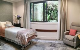 Aged Care Spacious airy rooms are available