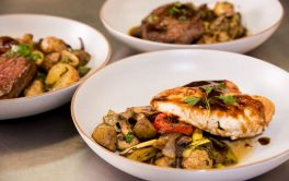 Aged Care Delicious gourmet dinners prepared