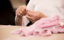 Aged Care Crafts & Activities with our Activities Coordinator