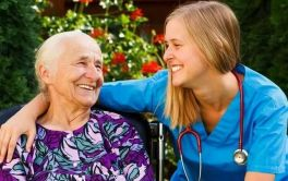 Aged Care Happy Resident