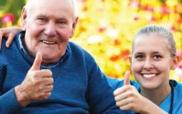 Aged Care Resident and carer