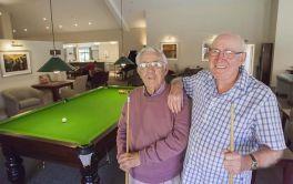 Retirement Village Pool table