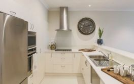 Retirement Village Apartment kitchen