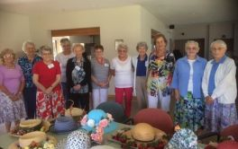 Retirement Village Garden Lovers decorative hats