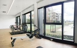 Retirement Village Gym overlooking the other Fitness Hub facilities