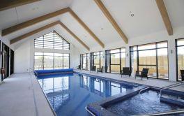 Retirement Village Pool overlooking other Fitness Hub Facilities