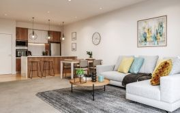 Retirement Village Apartment Living Room