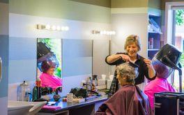 Retirement Village Hair Salon