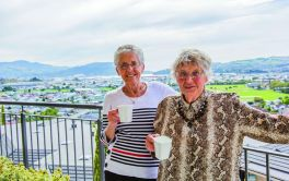 Retirement Village Balcony View