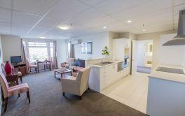 Retirement Village Independent Apartment Kitchen & Lounge