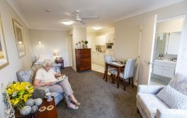 Retirement Village Studio Serviced Apartment