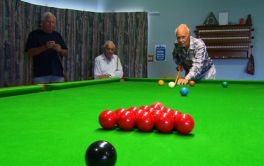 Retirement Village Snooker at Omokoroa Country Estate