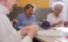Retirement Village Join our knitting club