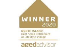 Retirement Village Winner Best Small Retirement Village North Island
