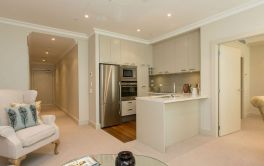 Retirement Village Kitchen and Living