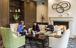 Retirement Village Community Lounge