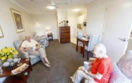 Retirement Village Serviced Studio Apartment