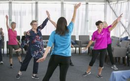 Retirement Village Fitness Class