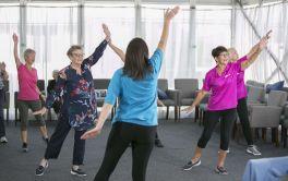 Retirement Village Fitness Class