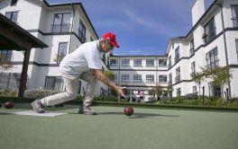 Retirement Village Lawn Bowls