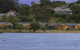 Retirement Village Waiheke Village from the sea